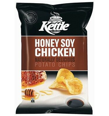 Kettle Honey Soy Chick 90g x 12