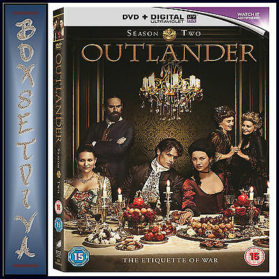 Outlander - Complete Season 2 *brand New Dvd **