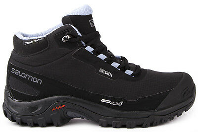 SALOMON Shelter CS Waterproof Womens Snow SoftShell Winter Boots Hiking Shoes