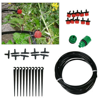 Instant Drip Kit Watering Gravity Irrigation Greenhouse Plants Water System Sets