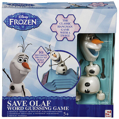 Olaf Word Guessing, Fun Family Kids Party Game