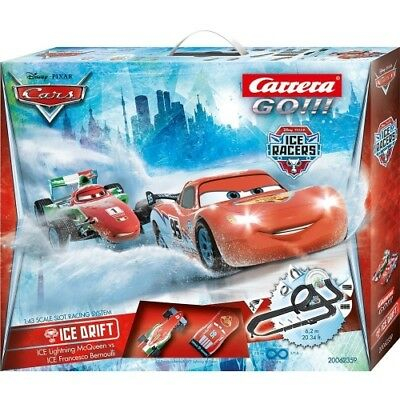 Carrera Go!!! Disney Pixar Cars Ice Drift 62359 Rennbahn Lightning Mcqueen 6,2M