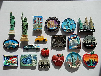 One Selected 3D Souvenir Fridge Magnet from New York