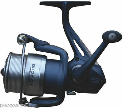 Drennan FD 4000 Compact Front Drag Float / Feeder Reel + 2 Spare Alloy Spools