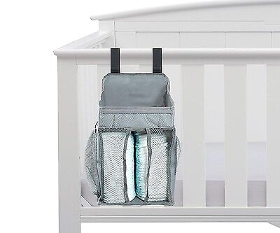 Baby Nursery Organiser - Nappy Organiser - Large Pockets - Space For Nappies & W