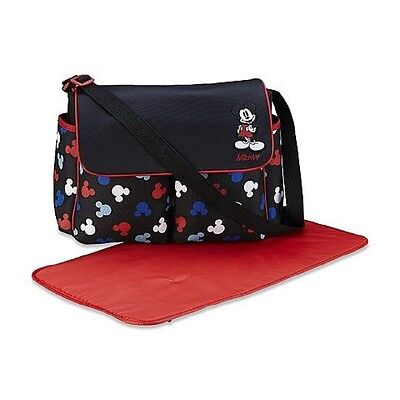 Disney Baby Mickey Mouse 3 Piece Infant Nappy Bag Set, Silhouettes. Best Price