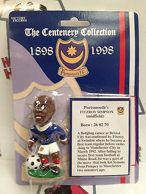 VICTORY FIGURES PORTSMOUTH FC Fitzroy Simpson