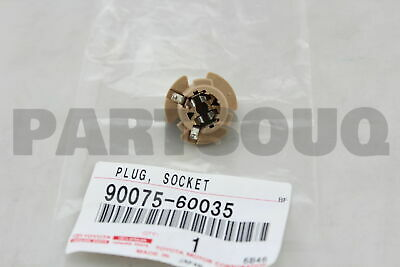 9007560035 Toyota SOCKET & WIRE SUB-ASSY, REAR COMBINATION LAMP, RH/LH