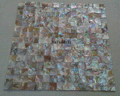 11PCS colorful shell mosaic mother of pearl kitchen bathroom groutless bar tile