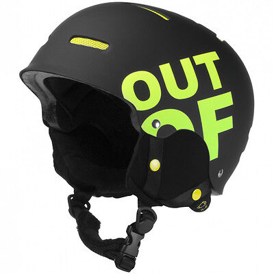 Casco da Snowboard Out Of WHIPOUT BLACK/YELLOW