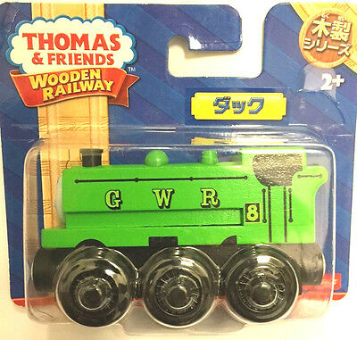 Fisher Price Thomas and Friends Wooden Series Duck (Japanese Packing)