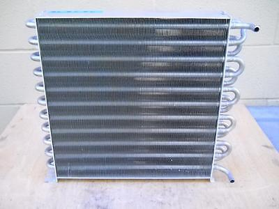 """Stainless Steel Heat Exchanger with Aluminum Fins 18"""" x 16"""""""