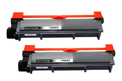2PK TN660 BLACK TN-660 Toner for brother HL-L2305W DCP-L2540DW HL-L2340DW TN630