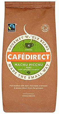 Caf direct Fairtrade Machu Picchu Whole Bean Coffee 227g  Pack of 2