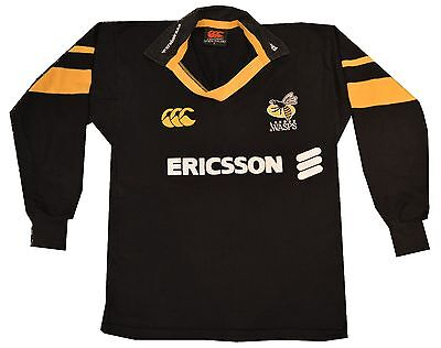London Wasps Rugby Jersey Men's Size Small - Canterbury New Zealand
