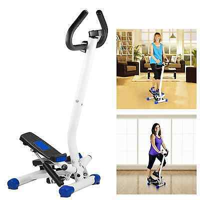 Stepping Machine Exercise Stepper Handle Bar Aerobic Fitness Step Stair Workout