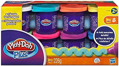 Play-Doh Plus Modelling Clay  Set of 8 Tubs