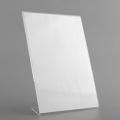 Acrylic Plastic Counter Perspex INFORMATION Leaflet Display Stands A4 SCHOOL