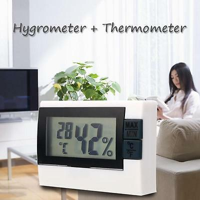Digital LCD Indoor Home Room Thermometer Hygrometer Max Min Temperature Humidity