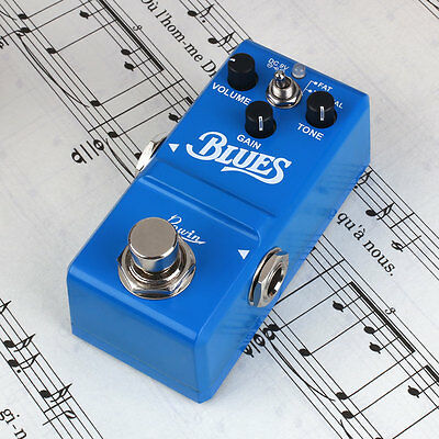 Portable Metal Blues Vintage Overdrive Guitar Effect Pedal True Bypass