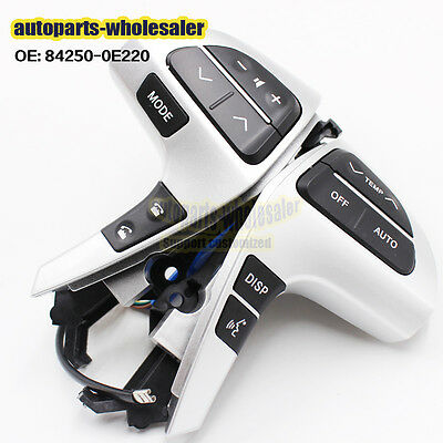 Bluetooth Steering Pad Wheel Audio Control Switch For Toyota Hilux 84250-0E220