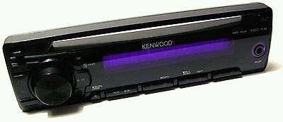 Rare - Genuine Kenwood Kdc-108 Face Plate Faceplate Car Stereo Cd Mp3 Wma