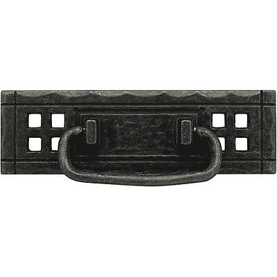 """Liberty 4-1/4"""" Horizontal Bail and Backplate Drawer Pull Mixed Finishes"""
