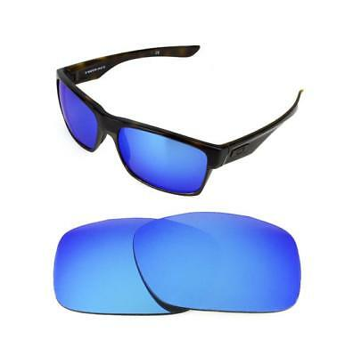New Polarized Ice Blue Replacement Lens For Oakley Two Face Sunglasses