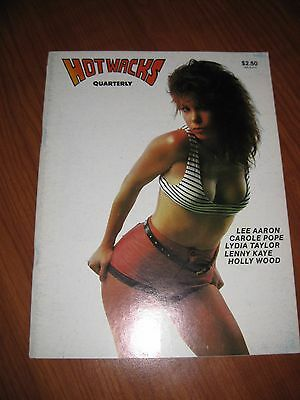 Hot Wacks Issue #11 Quarterly Vol. 3 No 3 Bootleg Record Mag, Lee Aaron on cover