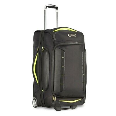 High Sierra 67926 AT8 66cm Drop Bottom Wheeled Duffel with Backpack Straps