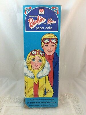 Vintage Barbie Ken PLUS BONUS Paper Dolls & Clothes PJ