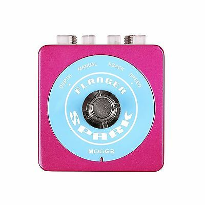 Mooer Spark Flanger Electric Guitar Effects Pedal
