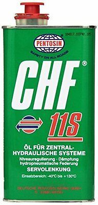 Pentosin CHF 11S Synthetic Hydraulic Fluid - 1 Liter Germany! Fast Shipping!