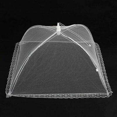 Reusable Mesh Screen Food Cover Tents Kee Out Flies Bugs Mosquitos Picnic