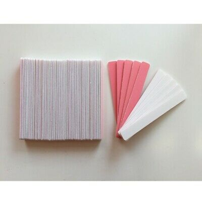"50 - 300 Pcs Wholesale Nail Salon 4.5"" Mini Files 150/240 Grit - Made in USA"