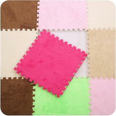 30*30cm Baby Puzzle Mat Soft Splice Living Bed Room Floor Children Candy Carpets