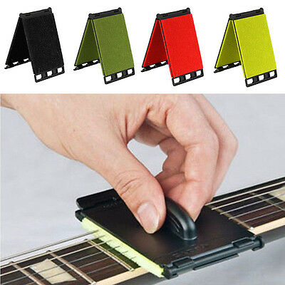 Guitar Bass Stringed Instrument Durable String Scrubber Fingerboard Cleaner Tool