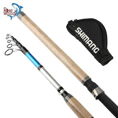 Shimano Alivio Dx Spinning Telescopic Carbon Rod Fisihing Length Choice