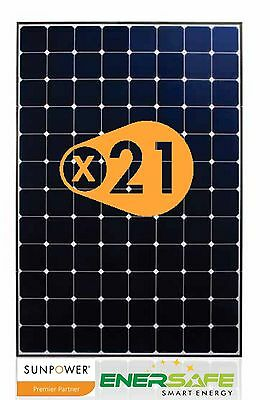 Modulo SunPower X21-345