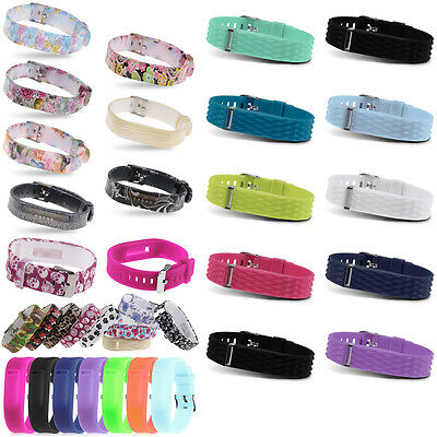 Replacement Wristband Bracelet Strap Watch Band for Fitbit Flex 2 Classic Buckle