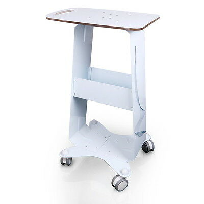 Assembled Beauty Salon Trolley Styling Pedestal Rolling Cart Tray For Cavitation