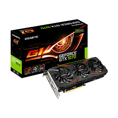 Scheda Video Gigabyte Gtx 1070 G1 Gaming 8Gb