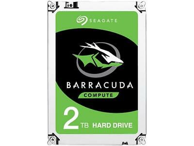 "Seagate 2TB BarraCuda 5400 RPM 128MB Cache SATA 6.0Gb/s 2.5"" Laptop Internal Har"