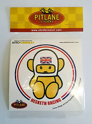 Collectable Hesketh Racing 3 Sticker Set