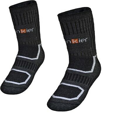 Winter Thermal Cyclist Socks Merino Grey Have warm toes in wind and rain Funkier