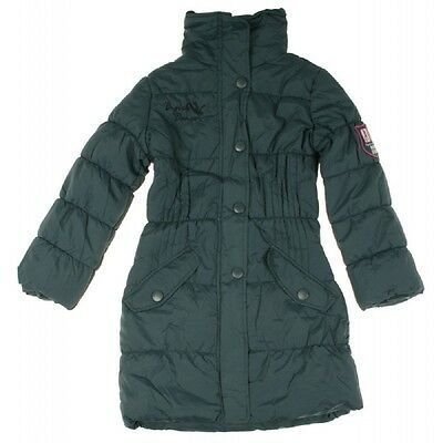 ❤B-GIRL DANCE❤  Jacke Winterjacke Mantel Wintermantel dunkelblau 128-164 NEU