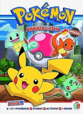 Pokemon Official Annual 2017 (2017 Annuals) Little Brother Books Ltd Hardcover