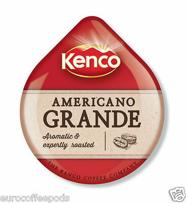 48 x Tassimo Kenco Americano Grande Coffee T-disc (Sold Loose) Medium Roast