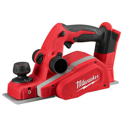 Milwaukee 18V M18Bp-0 Cordless 82Mm Planer & Dust Bag  Body Only