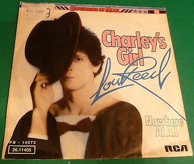 "# L. Reed CHARLEY'S GIRL / NOWHERE AT ALL Germany'76 (EX+/EX-) 7""-S00734"